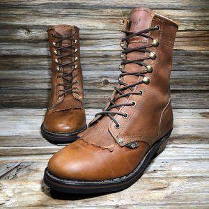 Adtec 8224 Packer Leather Steel Toe Work Boots 9